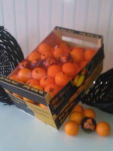Kist pers sinaasappelen