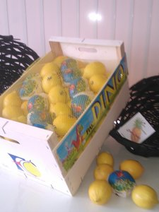 Kist citroenen
